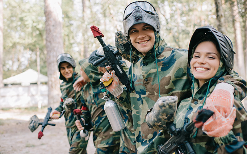 Digital Waivers for Paintball & Laser Tag